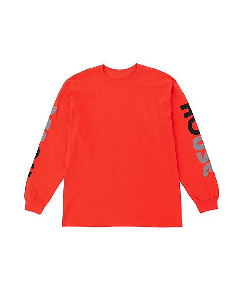 <IN THE HOUSE> HOUSE LONG SLEEVE TEE
