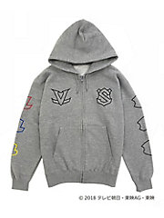 <IN THE HOUSE>IN THE HOUSE×<快盗戦隊ルパンレンジャーVS警察戦隊パトレンジャー>ZIP-UP HOODIE(MEN'S)