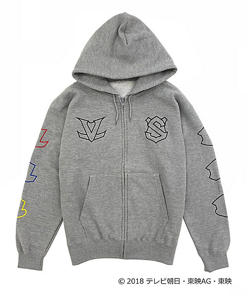 <IN THE HOUSE> IN THE HOUSE×<快盗戦隊ルパンレンジャーVS警察戦隊パトレンジャー>ZIP-UP HOODIE(MEN'S)