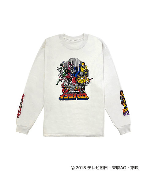 <IN THE HOUSE> IN THE HOUSE×<快盗戦隊ルパンレンジャーVS警察戦隊パトレンジャー>LONG SLEEVE TEE(MEN'S)