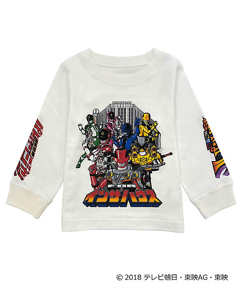 <IN THE HOUSE> IN THE HOUSE×<快盗戦隊ルパンレンジャーVS警察戦隊パトレンジャー>LONG SLEEVE TEE(KIDS)