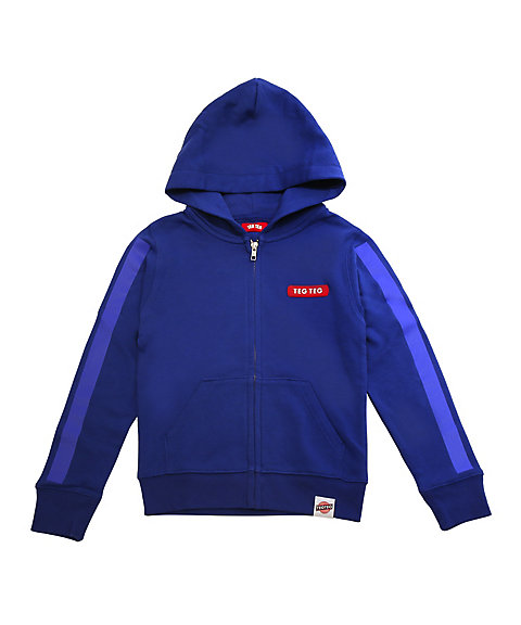 <TEG TEG> HOUSE Gel Enban ZIP-UP HOODIE (KIDS)