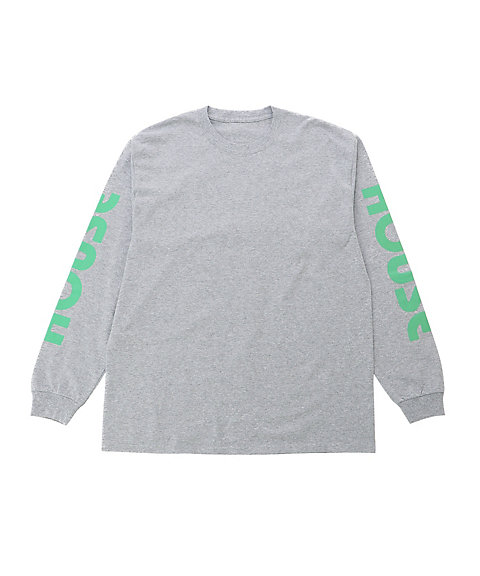 <IN THE HOUSE> ロングTシャツ HOUSE PASTEL L/S TEE(MEN'S)