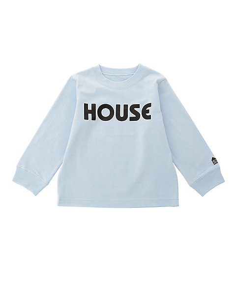 <IN THE HOUSE> ロングTシャツ HOUSE PASTEL L/S TEE(KID'S)