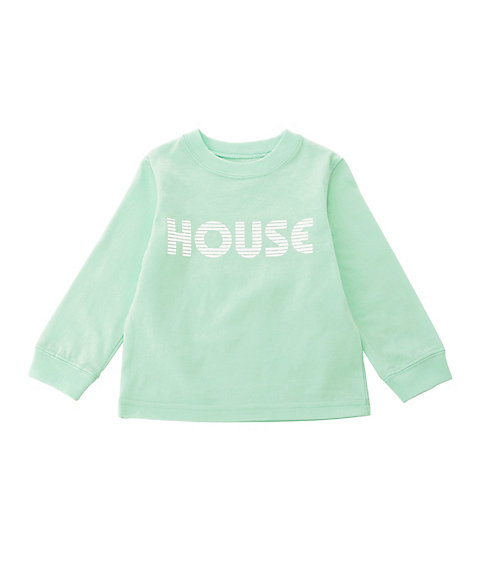 <IN THE HOUSE> ベビーロングTシャツ HOUSE PASTEL L/S TEE(BABY)