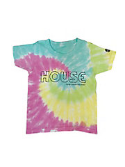 <IN THE HOUSE>Tシャツ HOUSE Tie-Dye TEE(KID'S)