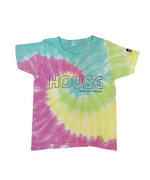 <IN THE HOUSE> Tシャツ HOUSE Tie-Dye TEE(KID'S)