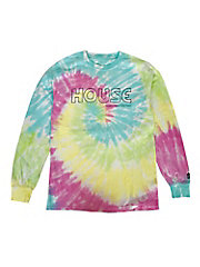 <IN THE HOUSE>Tシャツ HOUSE Tie-Dye L/S TEE(MEN'S)