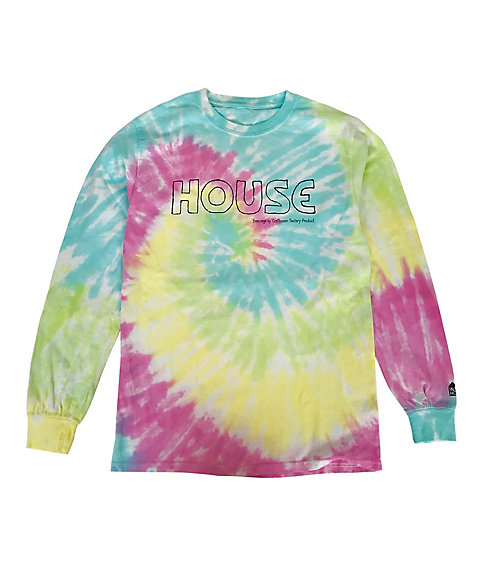 <IN THE HOUSE> Tシャツ HOUSE Tie-Dye L/S TEE(MEN'S)