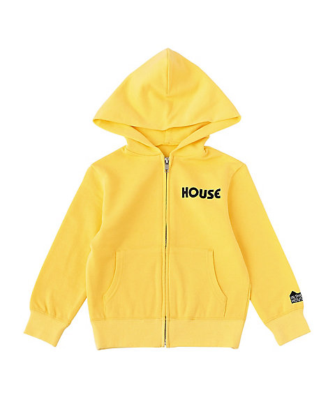 <IN THE HOUSE> パーカー HOUSE PASTEL ZIP-UP HOODIE(KID'S)