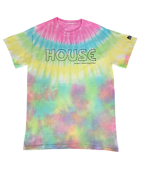 <IN THE HOUSE> Tシャツ HOUSE Tie-Dye TEE(MEN'S)