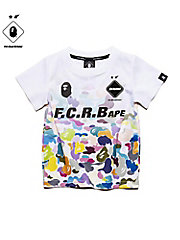 <F.C.Real Bristol>Tシャツ FCRB-K190020 BAPExFCRB GAME SHIRT(KIDS)