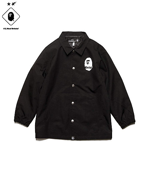 <F.C.Real Bristol> ジャケット FCRB-K190024 BAPExFCRB COACH JACKET(KIDS)