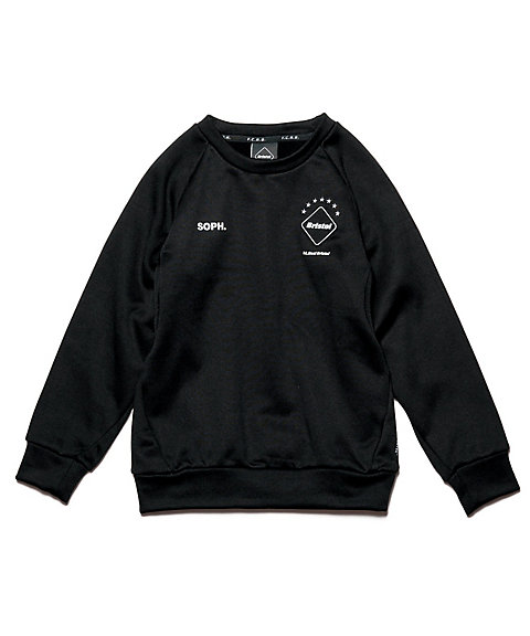 <F.C.Real Bristol> フリース トップス POLARTEC FLEECE CREW NECK TOP