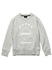 <F.C.Real Bristol>スウェット EMBLEM CREW NECK SWEAT