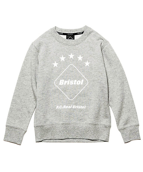 <F.C.Real Bristol> スウェット EMBLEM CREW NECK SWEAT