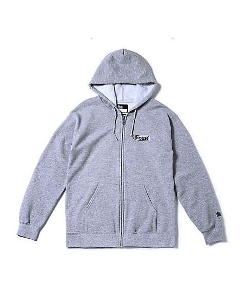 <IN THE HOUSE> フーディー MENS LOGO ZIP-UP HOODIE