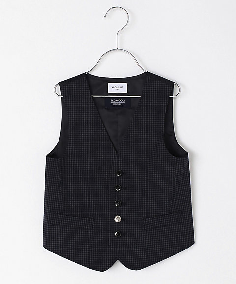 <ARCH&LINE> ベスト TECH WOOL BASIC VEST