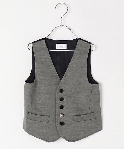 <ARCH&LINE> ベスト HIGH GAUGE JERSEY BASIC VEST