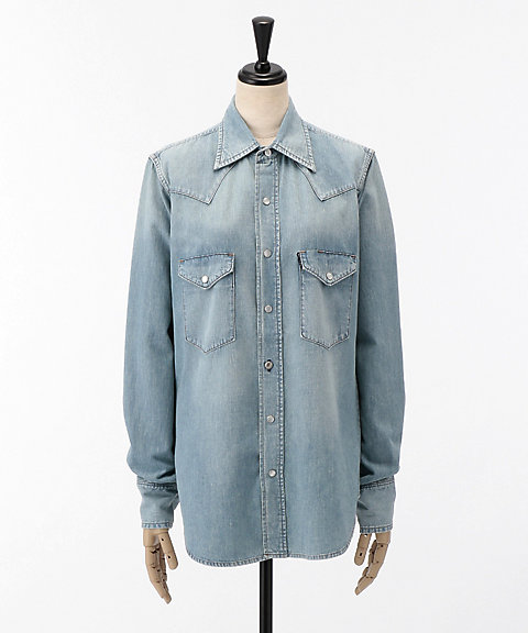 <MADISON BLUE>WESTERN SHIRT DENIM(MB184-5737)