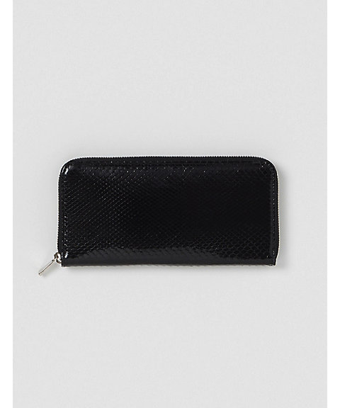 <Hender Scheme(MEN)>ロングウォレット(20S‐15‐di‐rc‐lzp/python long zip purse)