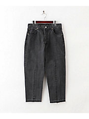 パンツ(8S‐7‐PA9‐008 TWIST TAPPERD DENIM PANTS)