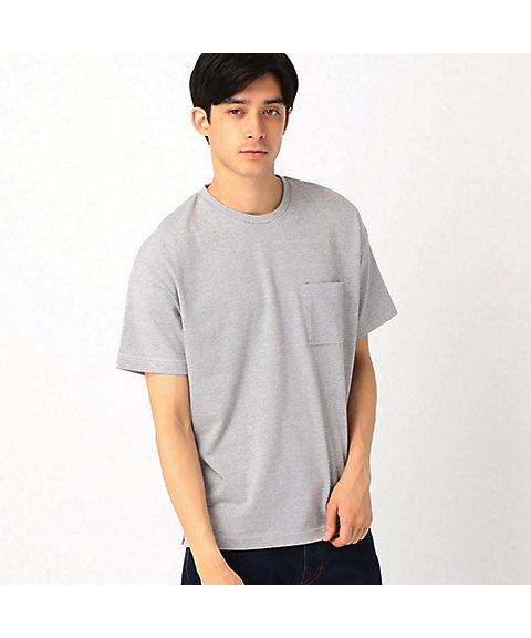 <COMME CA ISM (メンズ)>ボーダーTシャツ(4764TF26)