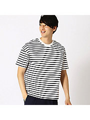 <COMME CA ISM (メンズ)>ボーダー Tシャツ(4764TL22)