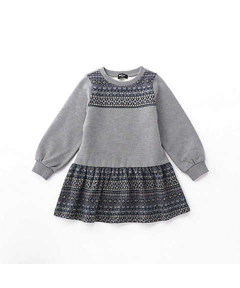 <COMME CA ISM (BABY&KIDS)>フェアアイル ワンピース(9846ON07)