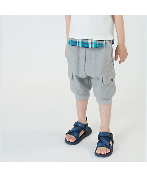 <COMME CA ISM (ベビー&キッズ)>サルエル風 カーゴ パンツ(9855PL25)