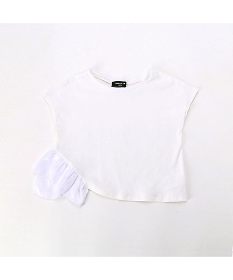 <COMME CA ISM (ベビー&キッズ)>フリル Tシャツ(9865CL19)