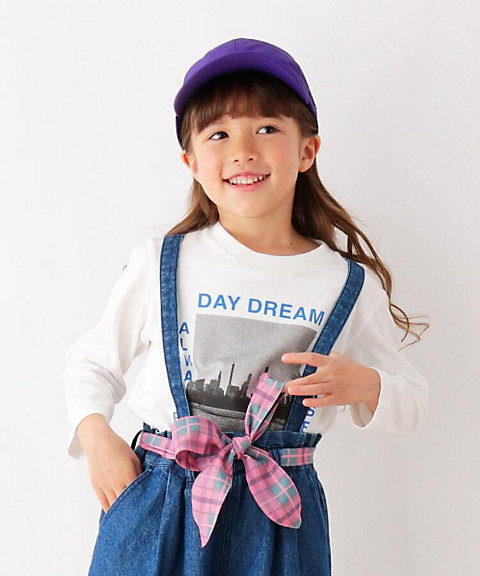 <THE SHOP TK (KIDS)>フォト風プリントロングTシャツ(2001589804)
