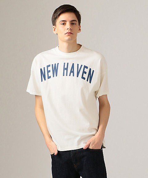 <J.PRESS>天竺 NEW HAVEN Tシャツ/カットソー(KHOVKM0025)