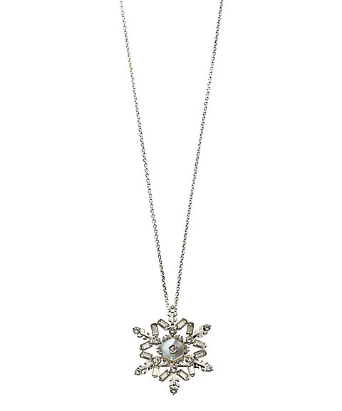 <VENDOME BOUTIQUE>【アクセリウム掲載品】雪の結晶ブローチ2WAYペンダント(VBMP854260MP)