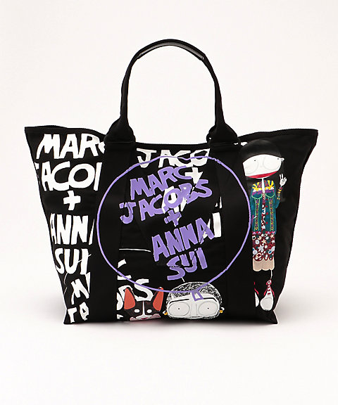 <ANNA SUI> ×<MARC JACOBS>LARGE LOGO TOTE(M0014202)