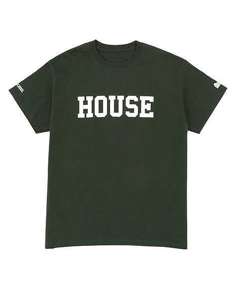 <IN THE HOUSE> HOUSE COLLEGE TEE(Men's)