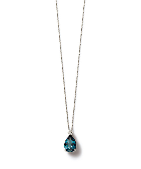 <STAR JEWELRY PRECIOUS(Women)>NIGHT BLUE ネックレス