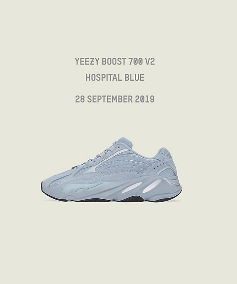 <adidas Yeezy by Kanye West>YEEZY BOOST 700 V2 HOSPITAL BLUE