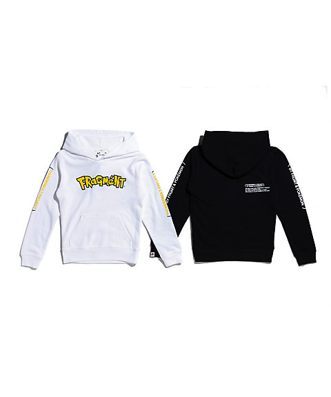 <THUNDERBOLT PROJECT BY FRGMT & POKEMON> キッズ フーディー LOGO_C KIDS HOODIE