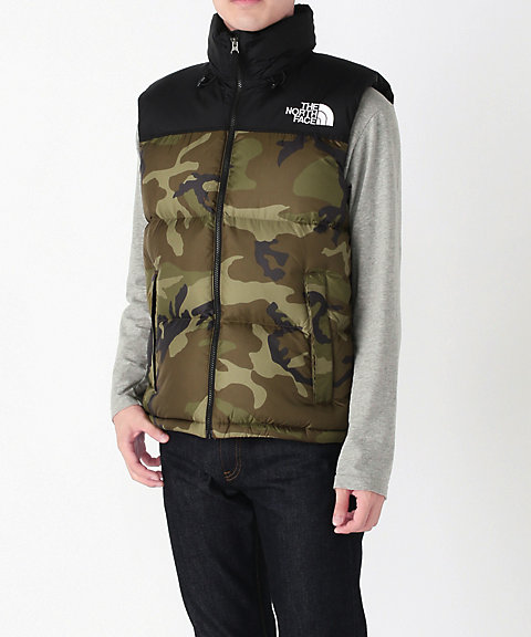 <THE NORTH FACE>NOVELTY NUPTSE VEST(ND91844)