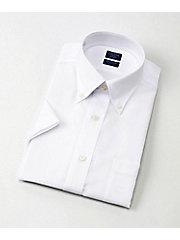 e2d6bdd1f86779 <SHIRT FACTORY>半袖白ドビーワイシャツ(CFN541‐480)