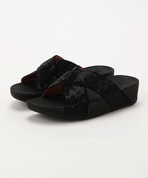 <フィットフロップ>RITZY SLIDE SANDALS(L22-001)