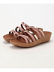 <フィットフロップ> LINNY SLIDE SANDALS - ZIGZAG MIRROR(K44-556)