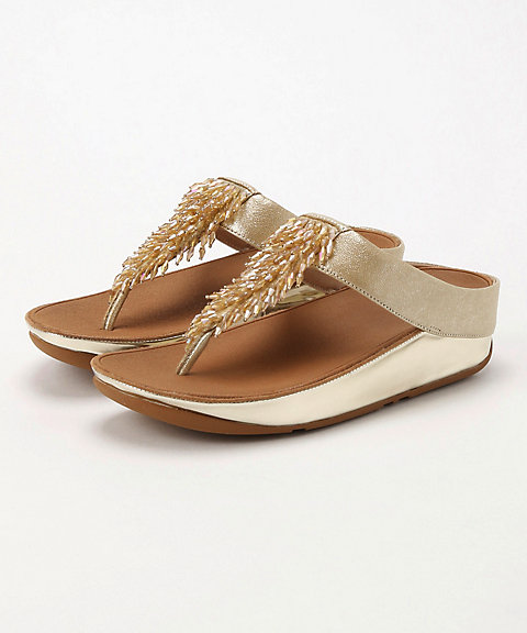 <フィットフロップ>RUMBA TOE-THONG SANDALS(M01-537)