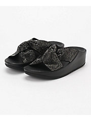 <フィットフロップ>サンダル TWISS CRYSTAL SLIDES