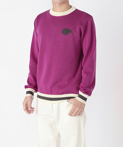 <KIWI & CO.>Crew Neck Merino Knit