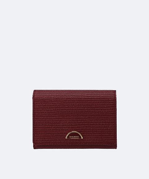 a11d80165021 <NINA RICCI>ルーンパース 二つ折り財布(85-1055)