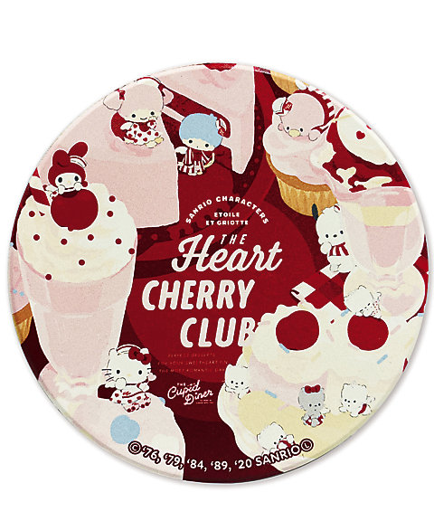 <Etoile et Griotte>陶器コースター/Heart CHERRY CLUB