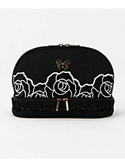 <ANNA SUI>2段ローズポーチ(110747-8501)