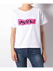 <ANNA SUI>PUNK LOGO & GRAND BAZAAR TEES Tシャツ